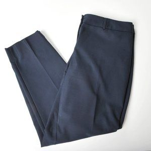 Cleo petites everybody dress pants in blue, straight leg, size 6
